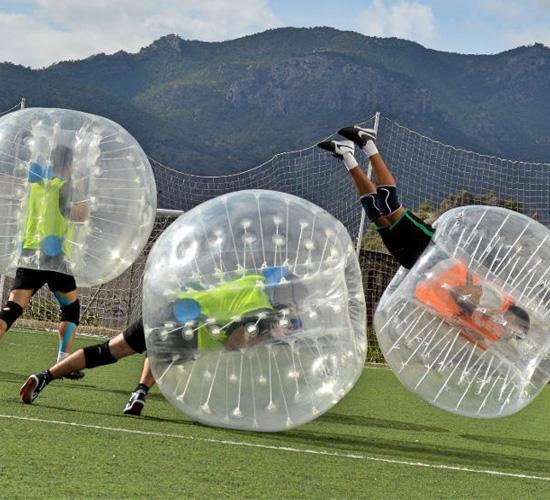 Despedidas y Eventos Mojacar - Fútbol Burbuja