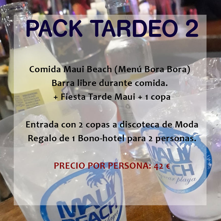 Pack Tardeo 2