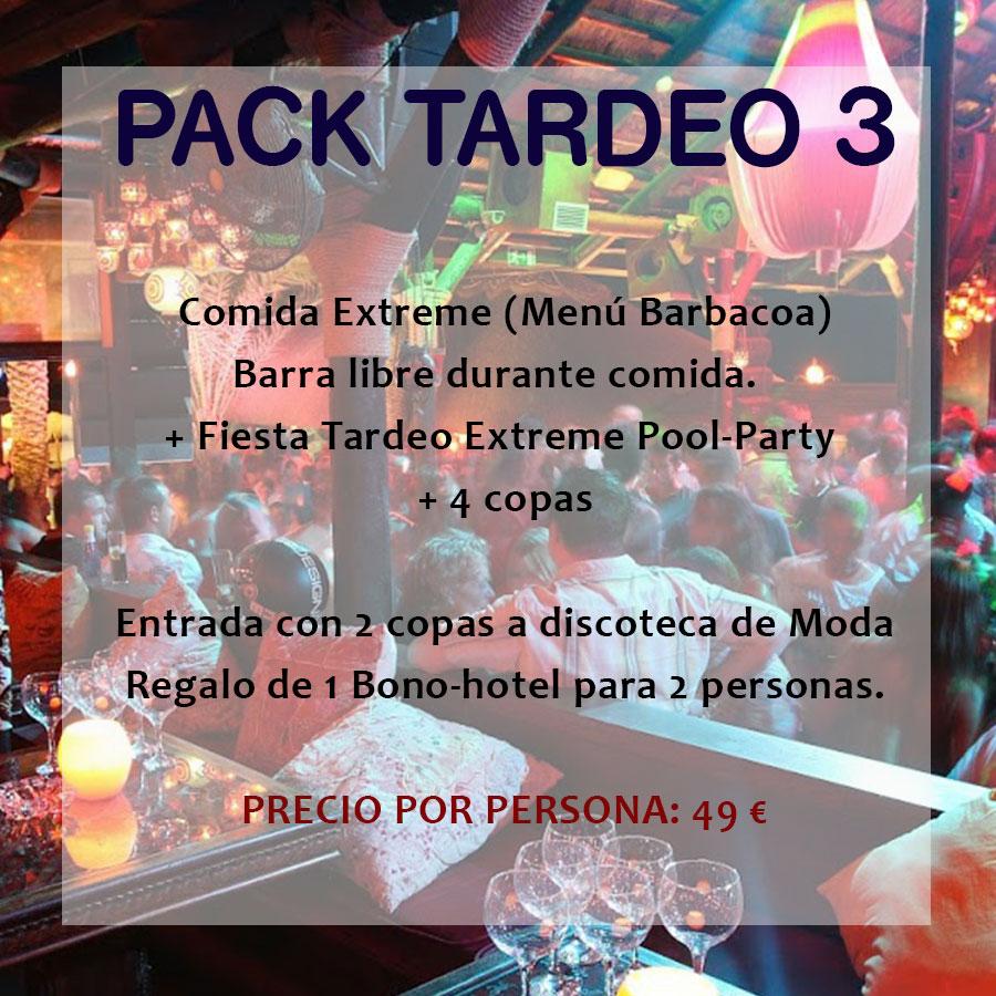 Pack Tardeo 3